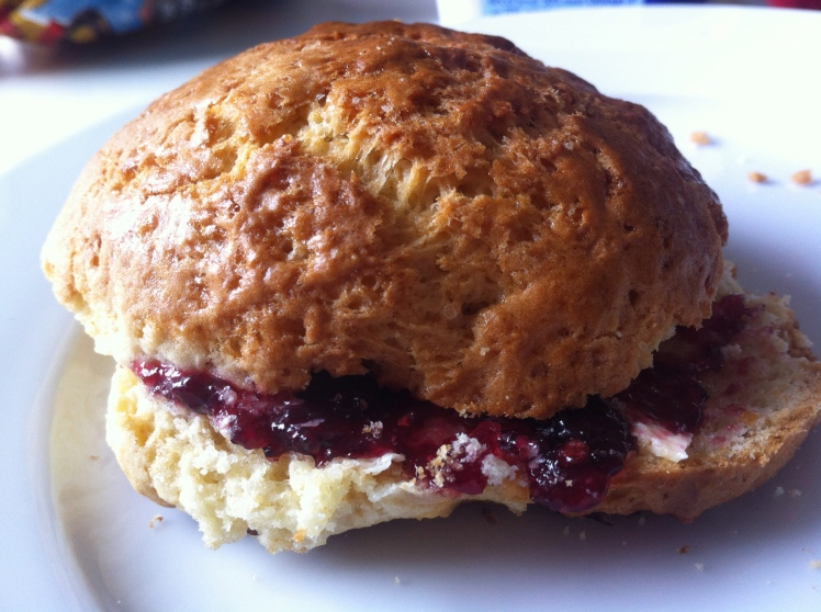 Homemade British Scone