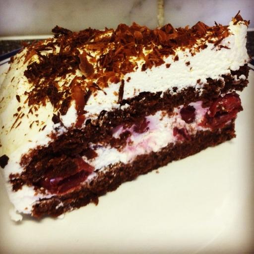 The black forrest cake